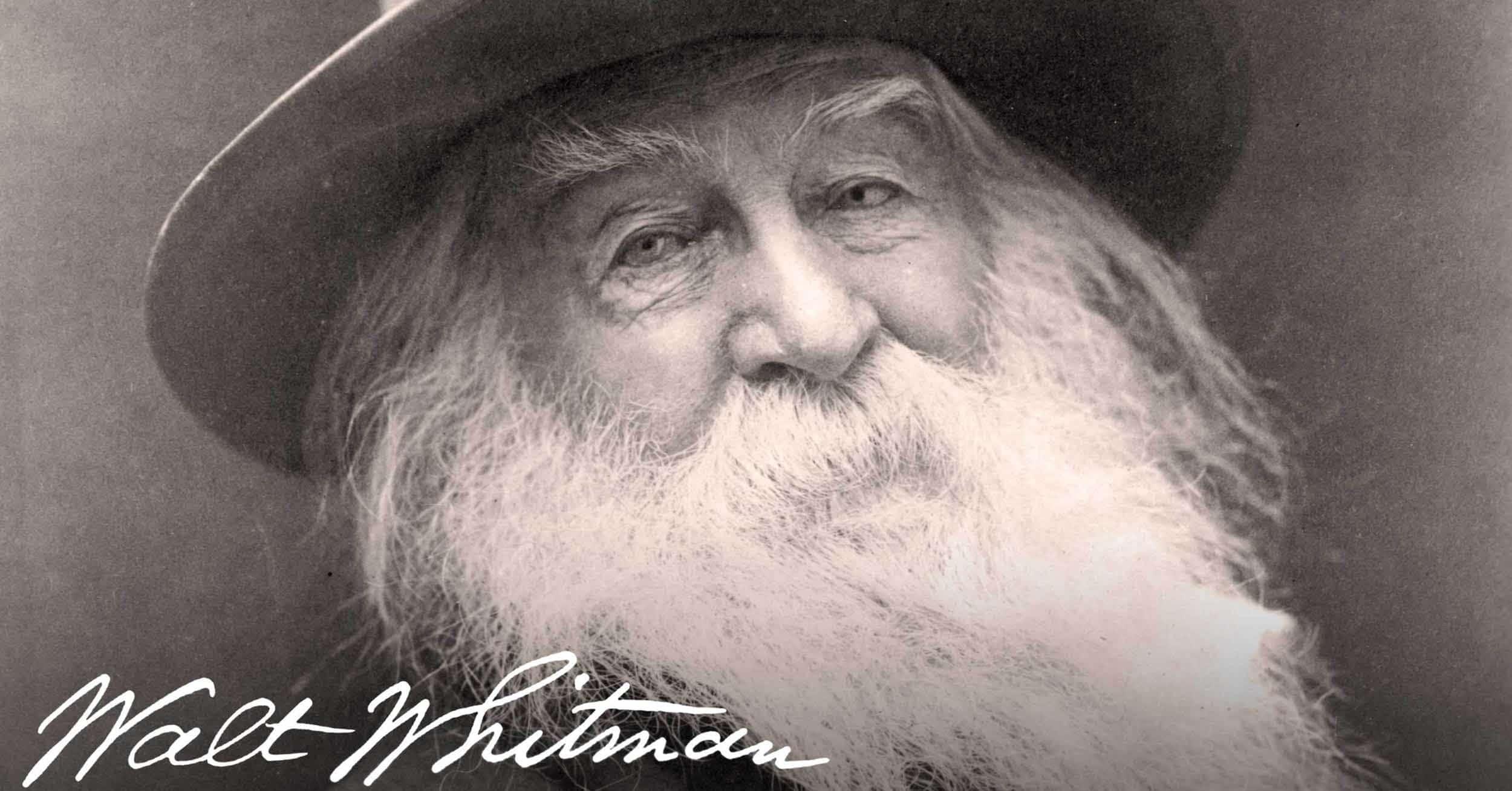 Walt Whitman Do I Contradict Myself?