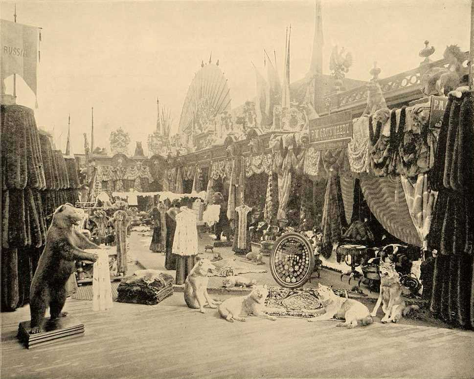 1893 Chicago World's Fair Russian Furs Exhibit, Paul M. Grunwaldt