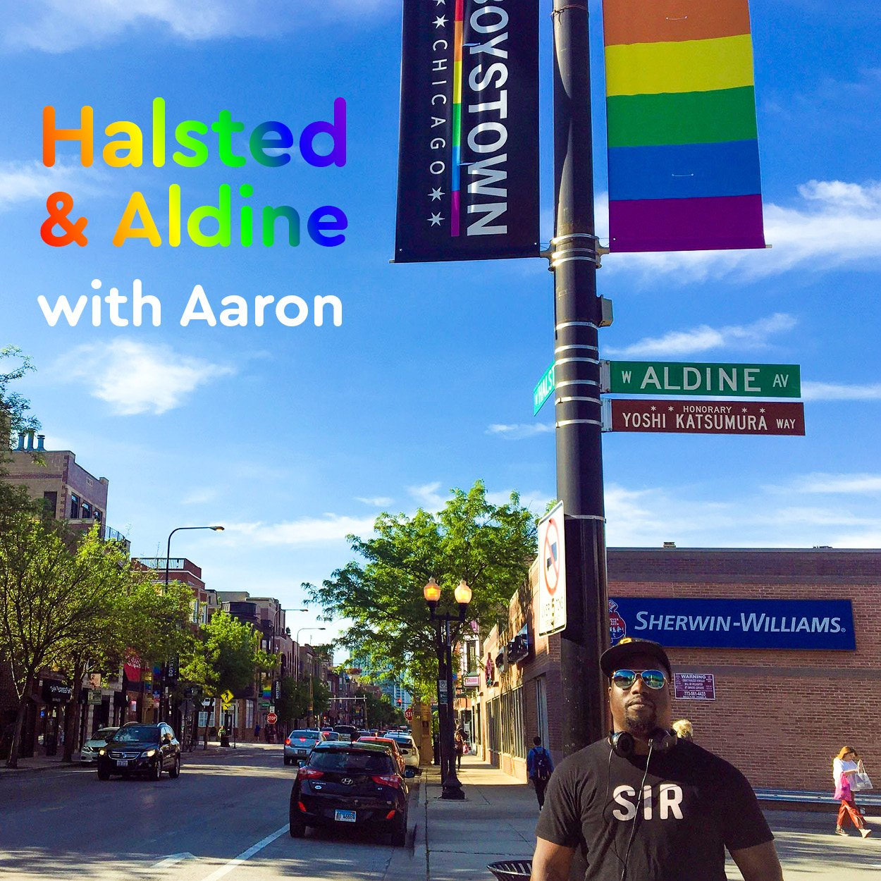 Aaron at Aldine & Halsted