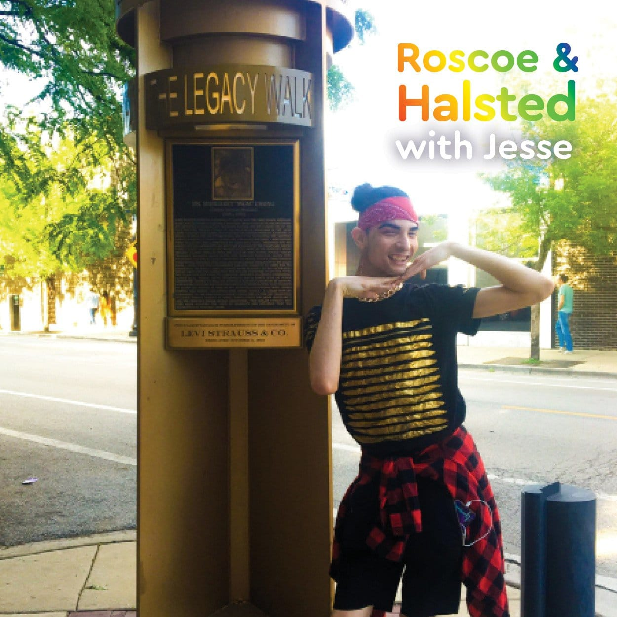 Jesse at Roscoe & Halsted