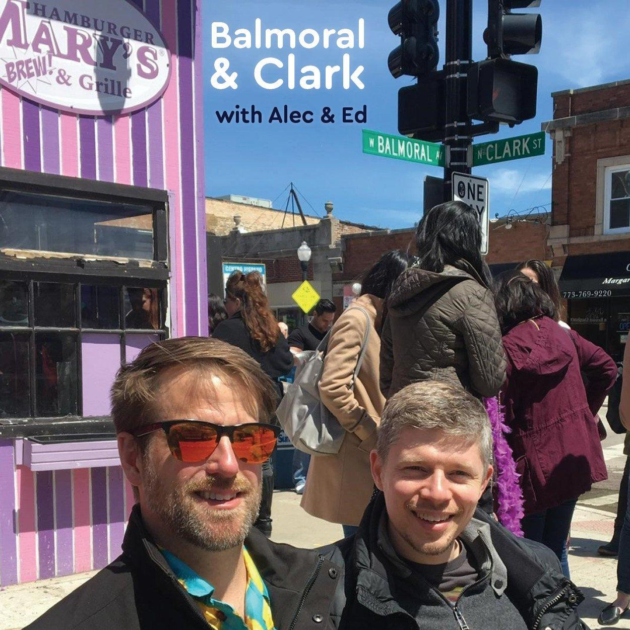 Alec and Ed at Balmoral & Clark