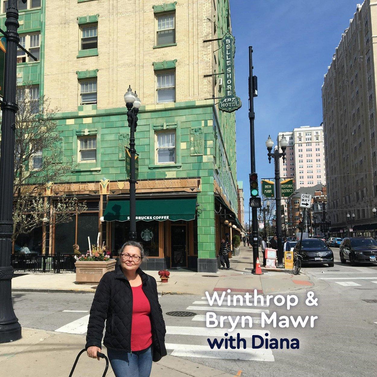 Diana at Winthrop & Bryn Mawr