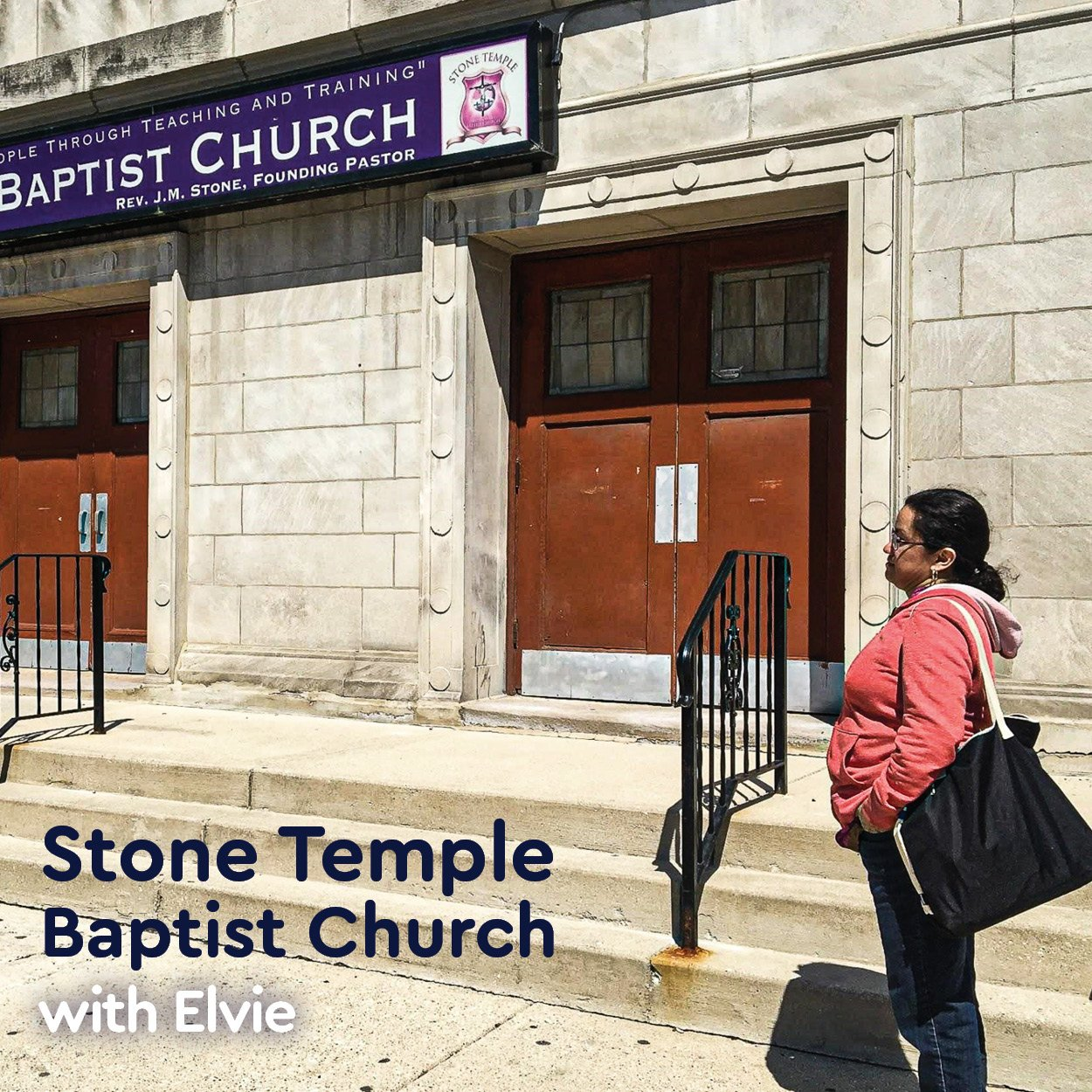 Elvy at Stone Temple Baptist Church