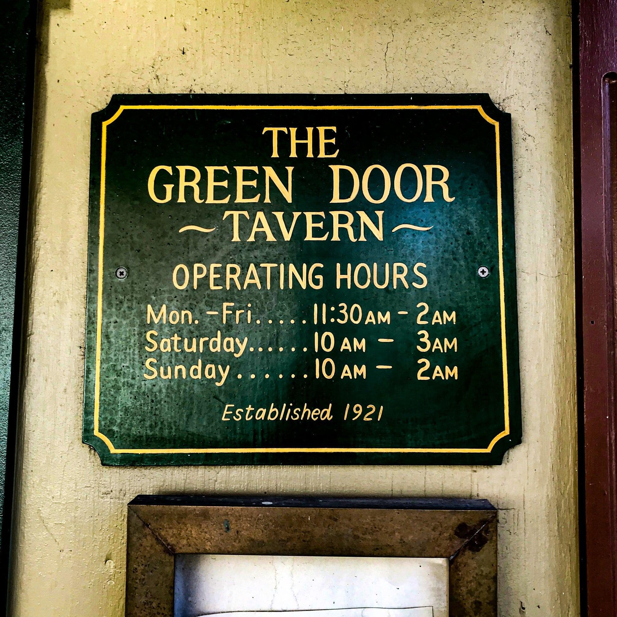 Green Door Tavern 4