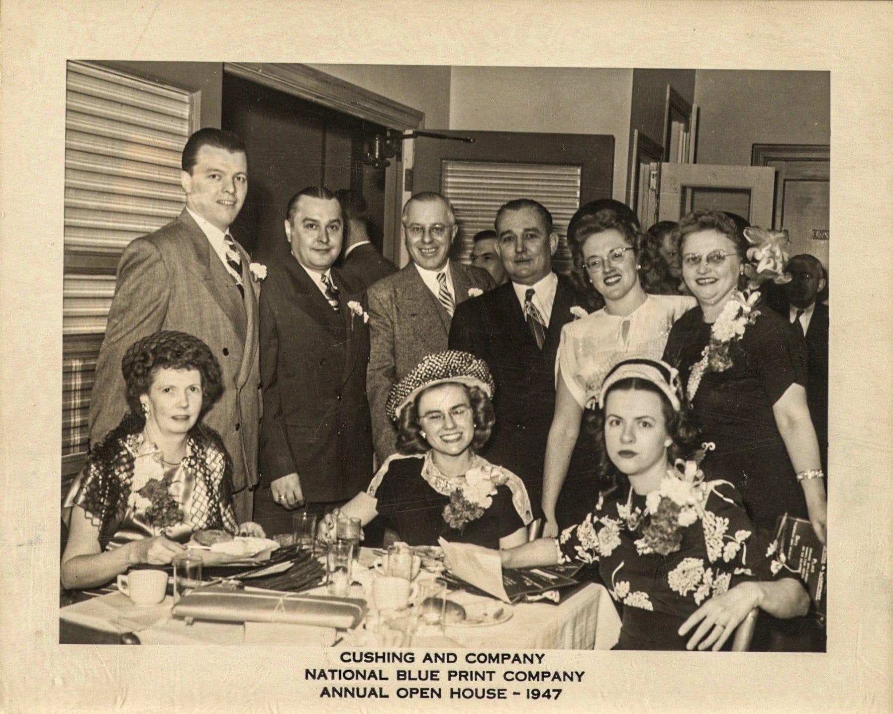 Cushing Open House, 1947