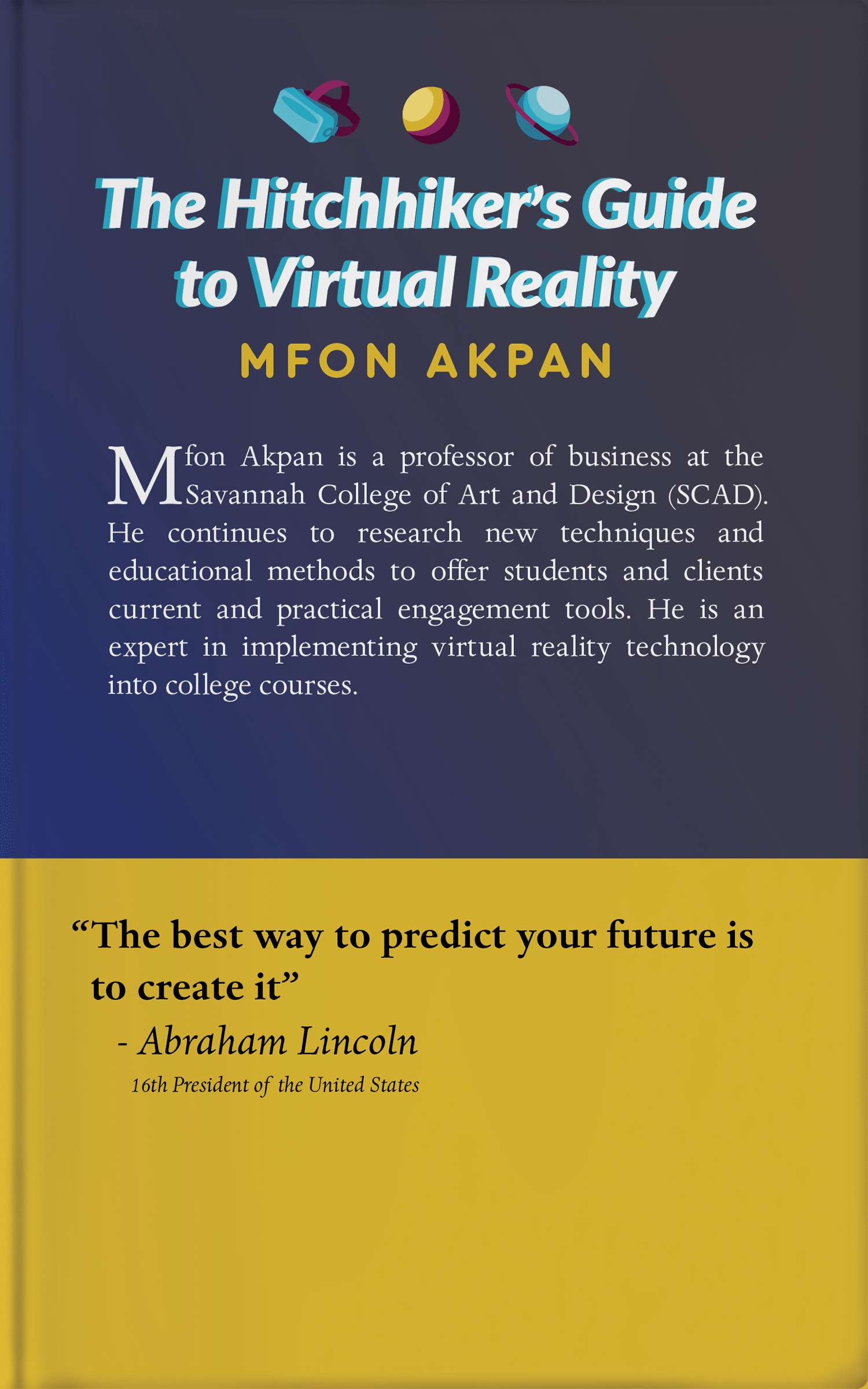 Hitchhiker's Guide to VR Back Cover