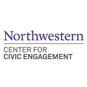 Northwestern Center for Civic Engagement Logo
