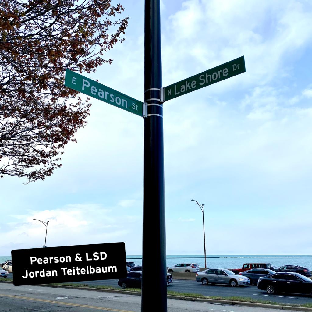 Pearson & LSD by Jordan Teitelbaum