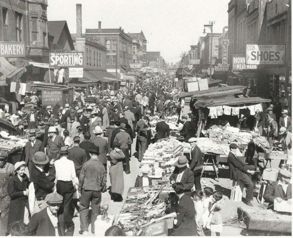 Maxwell Street 1930s