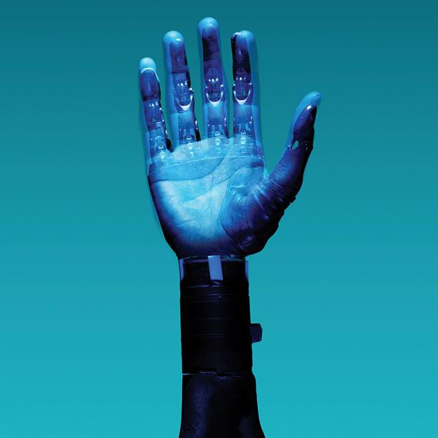 AI Writing Robot Hand