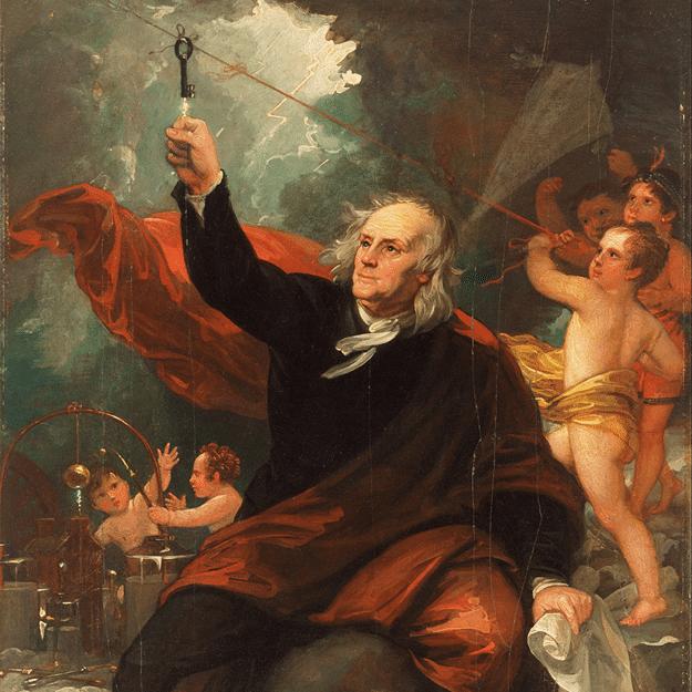 Ben Franklin lighting rod