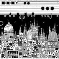 Illustration of Italo Calvino's 'Invisible Cities'