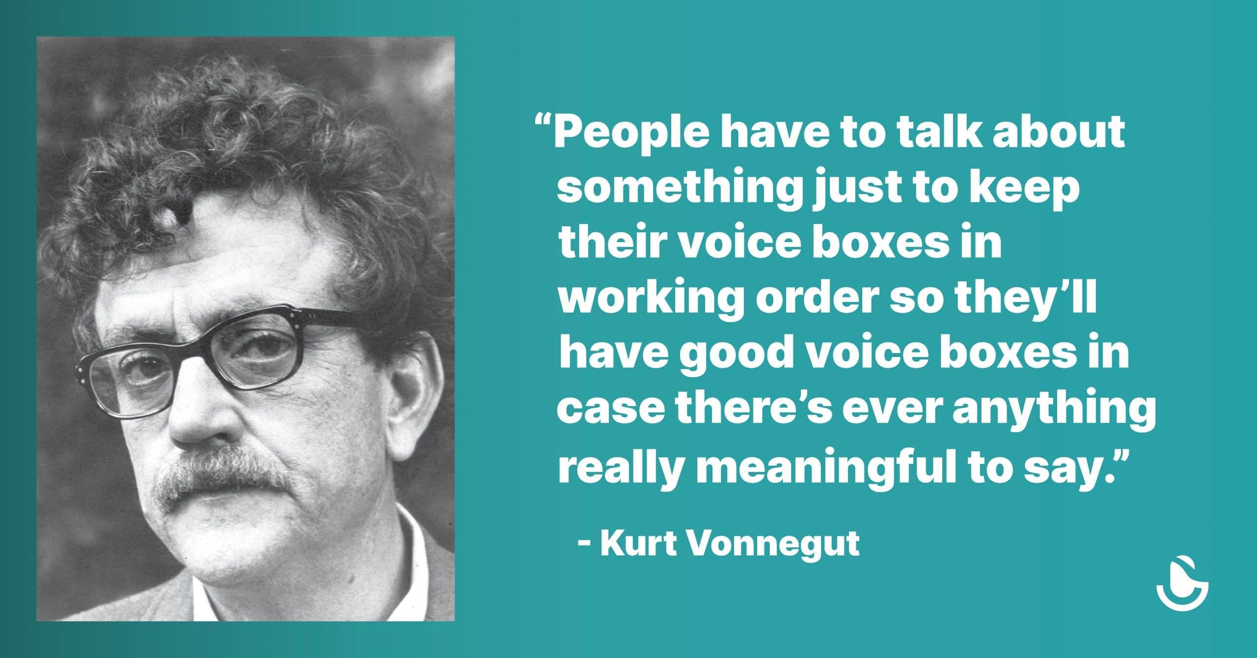 Kurt Vonnegut Voice Box